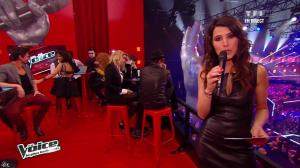 Karine Ferri dans The Voice - 13/04/13 - 11