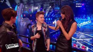 Karine Ferri dans The Voice - 13/04/13 - 17