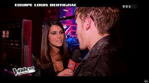 Karine Ferri dans The Voice - 16/02/13 - 05