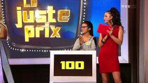 Fanny Veyrac dans le Juste Prix - 16/01/13 - 12