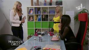 Nabilla Benattia, Shauna Sand et Marine Boudou dans Hollywood Girls - 25/11/13 - 09