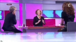Sophie Davant et Aurelia Block dans c'est au Programme - 24/01/14 - 05