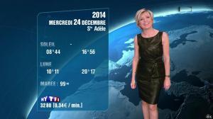 Evelyne Dhéliat à la Météo de 20h - 23/12/14 - 08