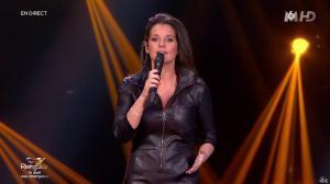 Faustine Bollaert dans Rising Star - 06/11/14 - 17