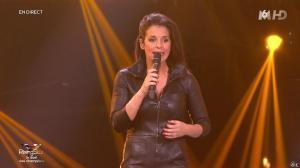 Faustine Bollaert dans Rising Star - 06/11/14 - 18