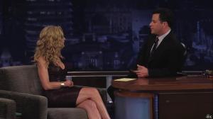 Kyra Sedgwick dans Jimmy Kimmel Live - 24/08/12 - 09