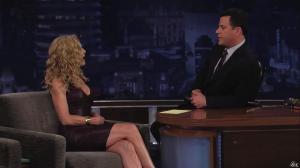 Kyra Sedgwick dans Jimmy Kimmel Live - 24/08/12 - 10