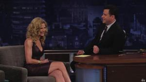 Kyra Sedgwick dans Jimmy Kimmel Live - 24/08/12 - 17