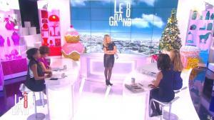 Laurence Ferrari, Audrey Pulvar et Hapsatou Sy dans Introduction du Grand 8 - 12/12/14 - 03
