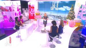 Laurence Ferrari, Audrey Pulvar et Hapsatou Sy dans Introduction du Grand 8 - 12/12/14 - 06