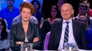 Natacha Polony dans le Grand Journal de Canal Plus - 29/10/14 - 03
