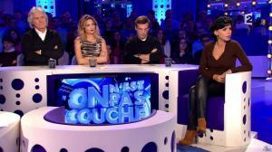 Rachida Dati dans On n'est pas Couché - 15/11/14 - 033