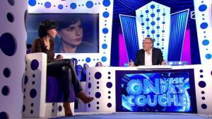 Rachida Dati dans On n'est pas Couché - 15/11/14 - 061