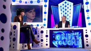 Rachida Dati dans On n'est pas Couché - 15/11/14 - 062