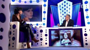 Rachida Dati dans On n'est pas Couché - 15/11/14 - 065