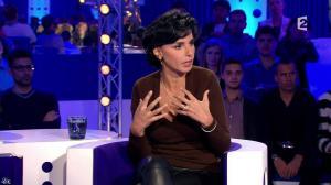 Rachida Dati dans On n'est pas Couché - 15/11/14 - 067