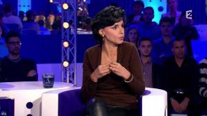Rachida Dati dans On n'est pas Couché - 15/11/14 - 069
