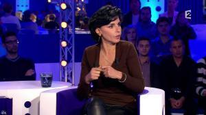 Rachida Dati dans On n'est pas Couché - 15/11/14 - 074
