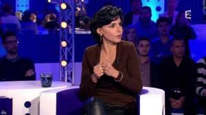 Rachida Dati dans On n'est pas Couché - 15/11/14 - 075
