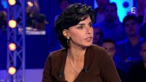 Rachida Dati dans On n'est pas Couché - 15/11/14 - 083