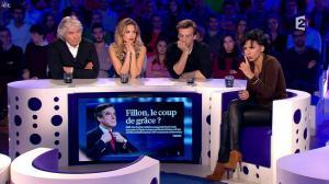 Rachida Dati dans On n'est pas Couché - 15/11/14 - 130