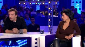 Rachida Dati dans On n'est pas Couché - 15/11/14 - 148