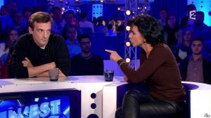 Rachida Dati dans On n'est pas Couché - 15/11/14 - 190