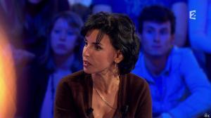Rachida Dati dans On n'est pas Couché - 15/11/14 - 223