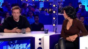 Rachida Dati dans On n'est pas Couché - 15/11/14 - 228