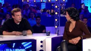 Rachida Dati dans On n'est pas Couché - 15/11/14 - 229