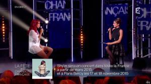 Shy m et Virginie Guilhaume dans la Fete de la Chanson Francaise - 21/11/14 - 06