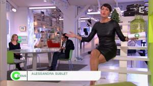Alessandra Sublet dans C à Vous - 28/11/12 - 03