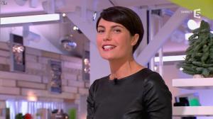 Alessandra Sublet dans C à Vous - 28/11/12 - 07