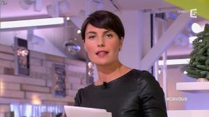 Alessandra Sublet dans C à Vous - 28/11/12 - 10