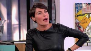 Alessandra Sublet dans C à Vous - 28/11/12 - 28