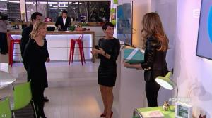 Alessandra Sublet et Céline Dion dans C à Vous - 28/11/12 - 24