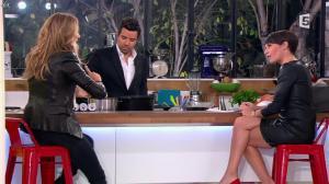 Alessandra Sublet et Céline Dion dans C à Vous - 28/11/12 - 29