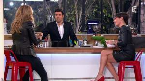 Alessandra Sublet et Céline Dion dans C à Vous - 28/11/12 - 34