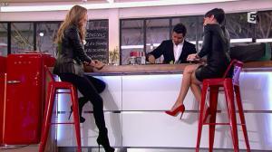 Alessandra Sublet et Céline Dion dans C à Vous - 28/11/12 - 37