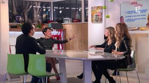 Alessandra Sublet et Céline Dion dans C à Vous - 28/11/12 - 42