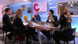 Alessandra Sublet et Céline Dion dans C à Vous - 28/11/12 - 44