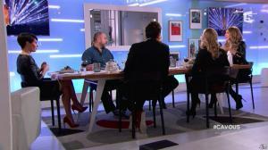 Alessandra Sublet et Céline Dion dans C à Vous - 28/11/12 - 46