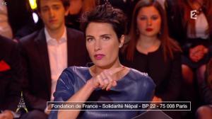 Alessandra Sublet dans Un Soir à la Tour Eiffel - 29/04/15 - 04