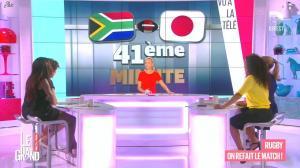 Laurence Ferrari, Hapsatou Sy et Aida Touihri dans le Grand 8 - 22/09/15 - 02