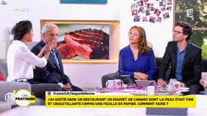 Valérie Durier dans la Quotidienne - 14/04/15 - 13