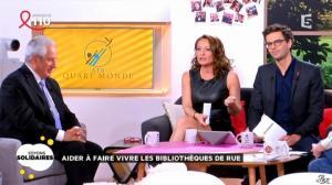 Valérie Durier dans la Quotidienne - 27/03/15 - 11