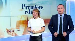 Adeline Francois dans Première Edition - 31/10/17 - 11