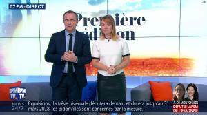 Adeline Francois dans Première Edition - 31/10/17 - 15