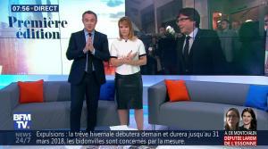 Adeline Francois dans Première Edition - 31/10/17 - 16