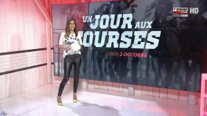 Amélie Bitoun dans un Jour aux Courses - 02/10/17 - 01